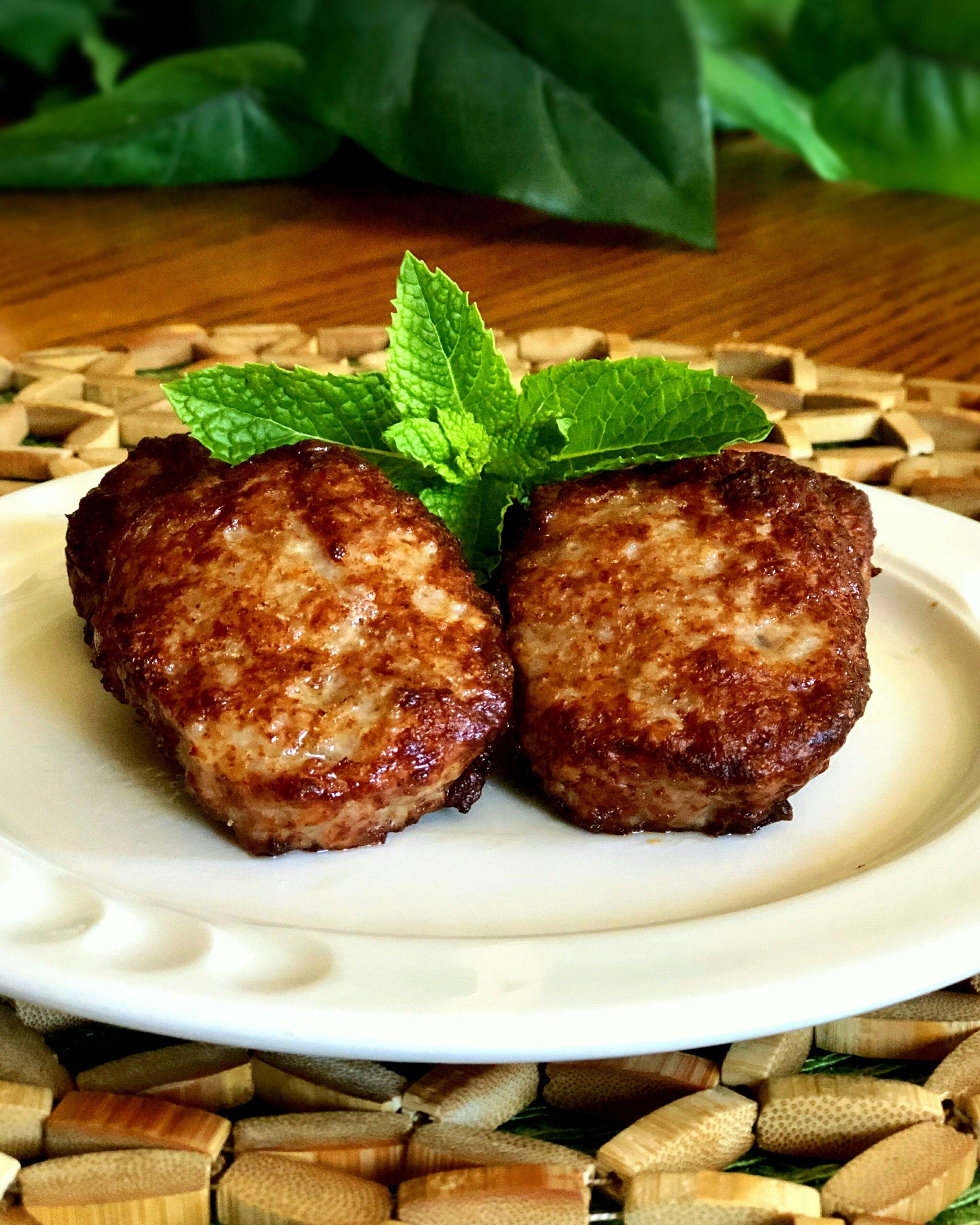 Air fryer sausage patties recipe air fryer recipes