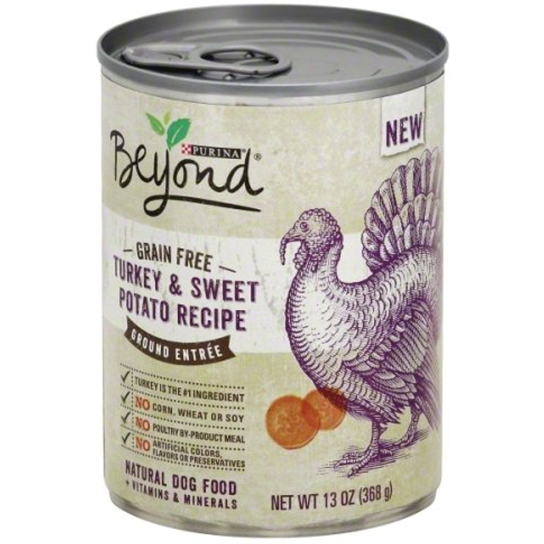 Purina Beyond Grain Free Turkey and Sweet Potato Recipe Ground