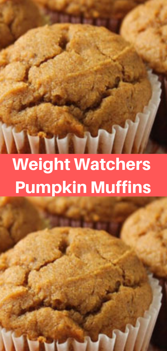 Weight Watchers Pumpkin Muffins #pumpkinmuffins