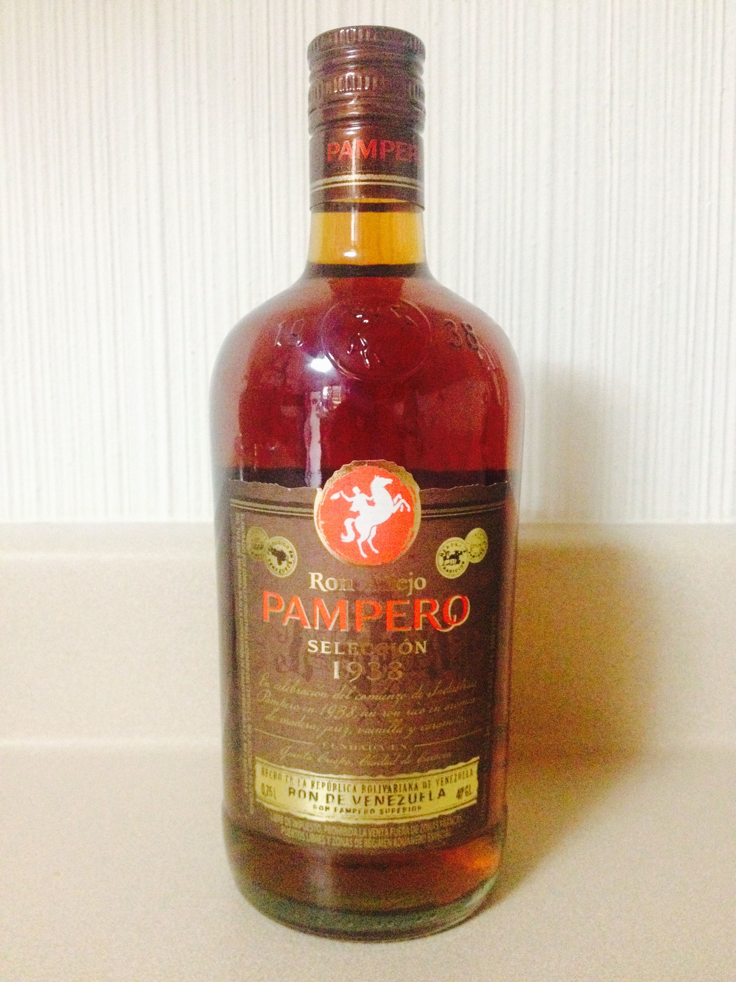 Ron Venezolano Ron Anejo Pampero Seleccion 1938 Spirit Drinks Rum Liquor