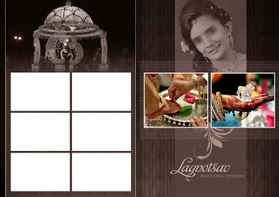 Indian Wedding Album Cover Design 17x24 Psd Templates Good