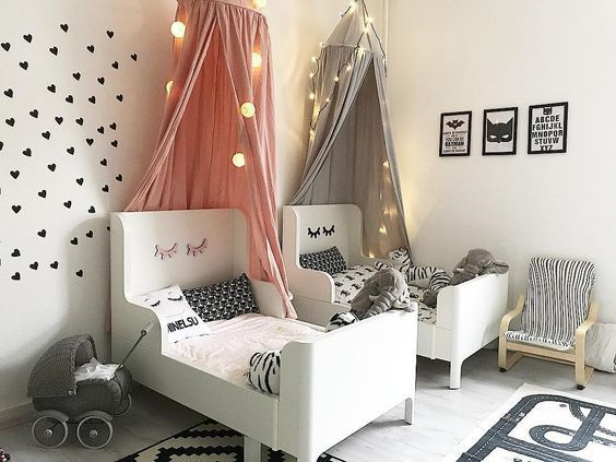 Childrens rooms in white + 20 PHOTOS