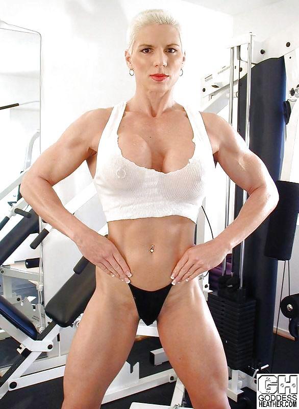 Goddess heather tristany champion female bodybuilder