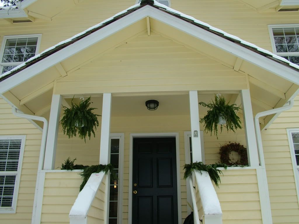 yellow siding and front door colors my old house i love the black door new home has. Black Bedroom Furniture Sets. Home Design Ideas