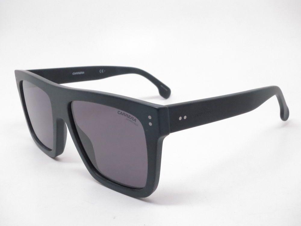 c807fb16783 Carrera 1010 S 003IR Matte Black with Grey Blue Sunglasses  Carrera ...