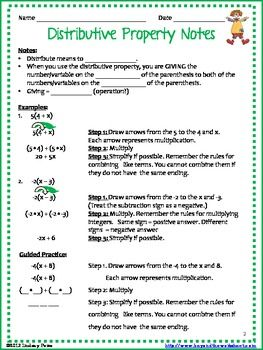 Worksheets Distributive Property Worksheets 4th Grade addition properties distributive thirdgradetroop com property coloring page with integers