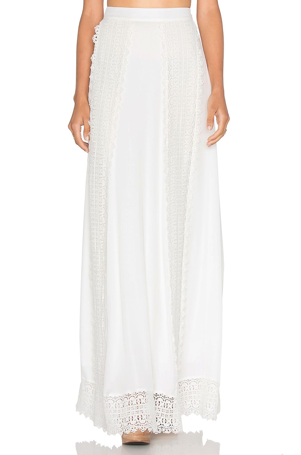 Sante Fe Maxi Skirt in White Majorelle London Clearance New Arrival Shopping Z29BHbuE