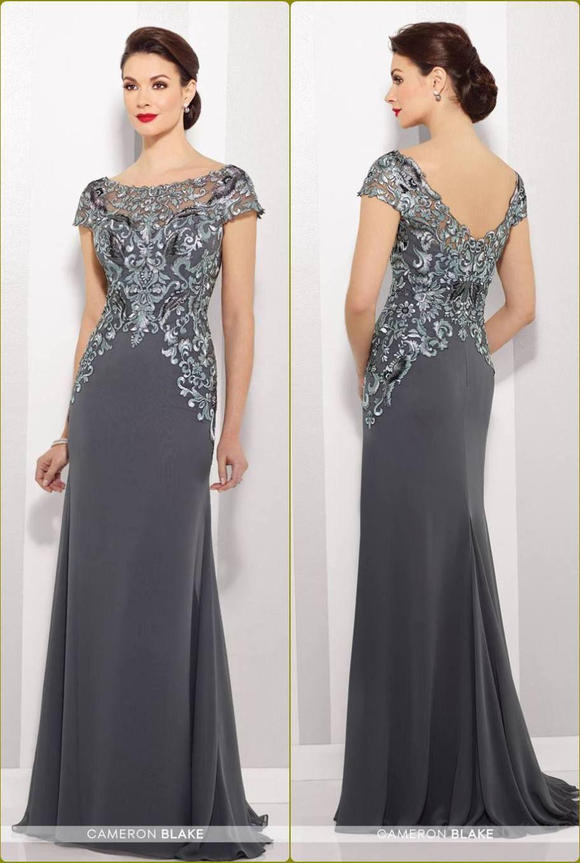 64f15cba8d3e vestido para a mãe da noiva ou noivo - prata - silver - moda anti-idade