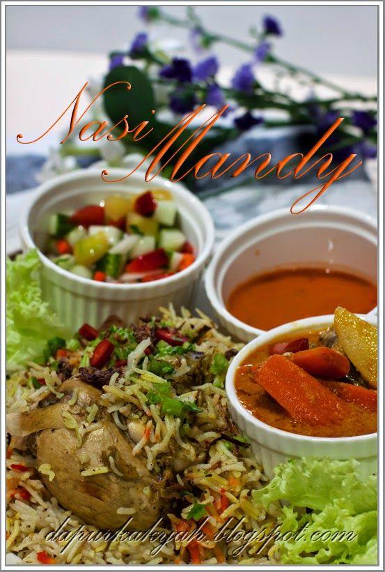 Dari Dapur Kak Yah Nasi Mandy Makanan Labu Nasi