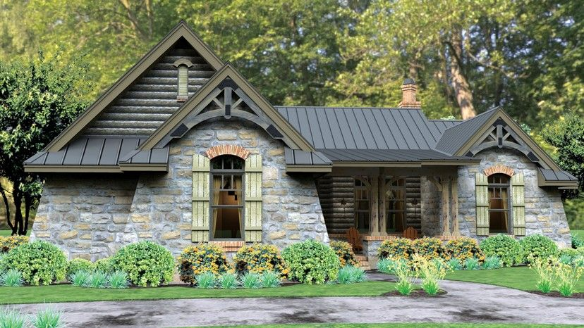 Home Plan Homepw76580 2234 Square Foot 3 Bedroom 2