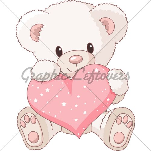 How To Draw A Teddy Bear Step By Step Bear Clipart Cartoon Clip Art White Teddy Bear