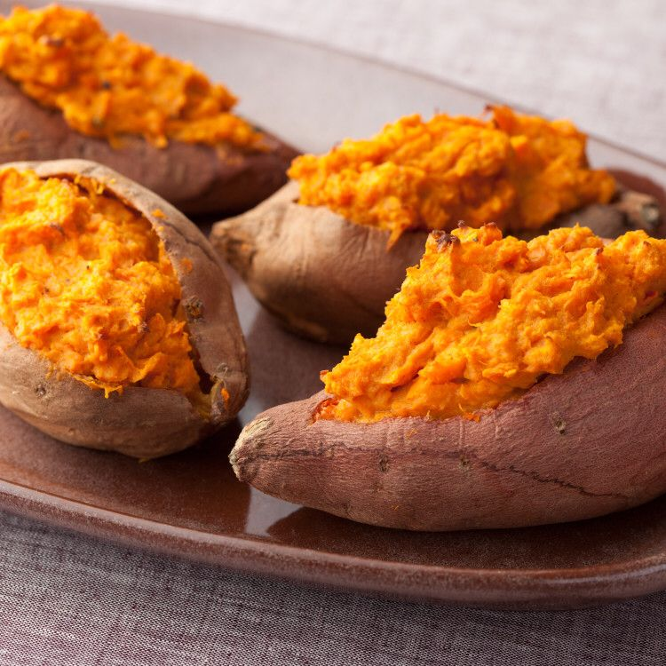 Twice Baked Sweet Potatoes By Patrick and Gina Neely