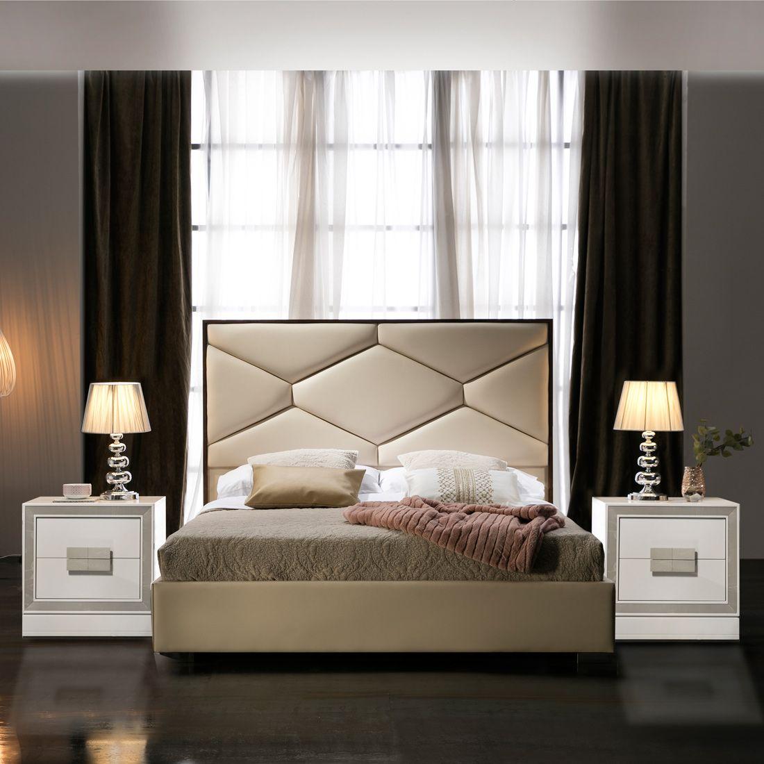 Esf Furniture Imports Martinabedqs Martina Queen Storage Bed Beige