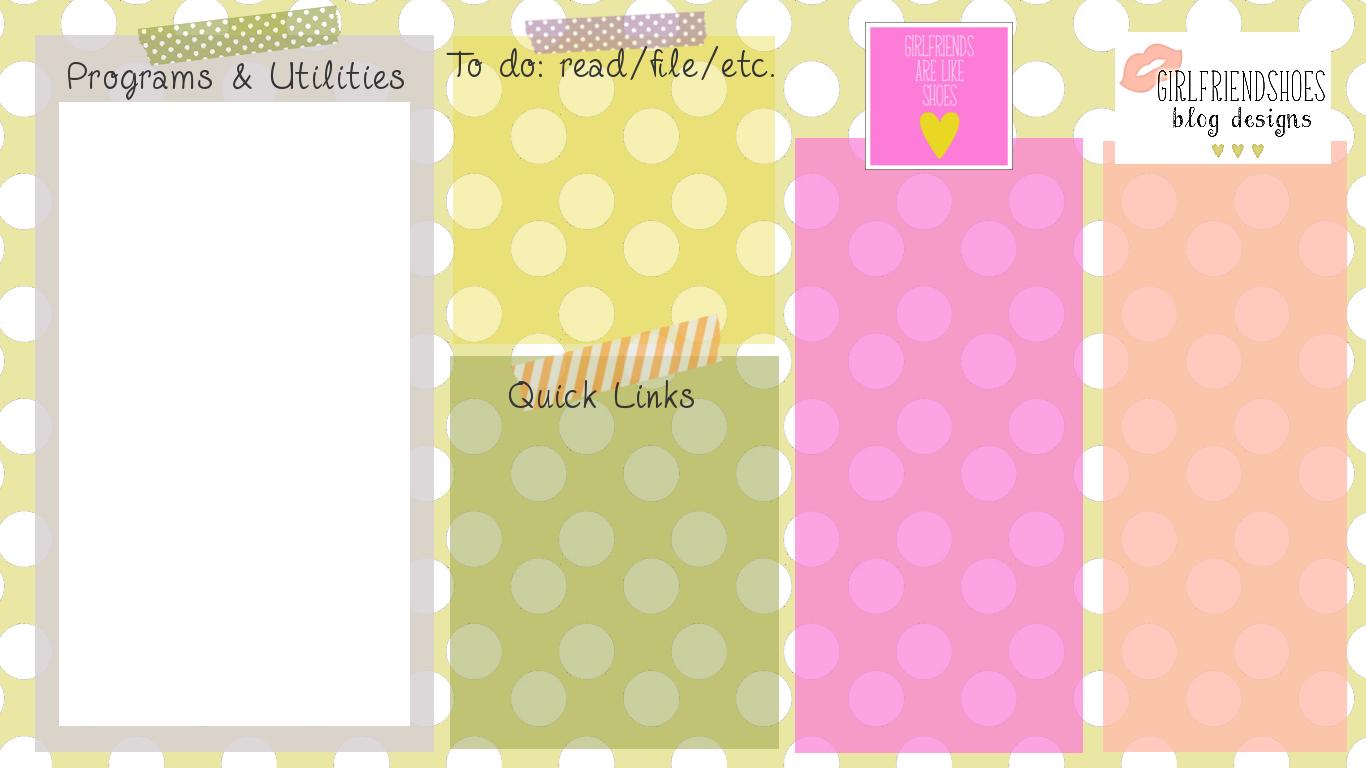 Wall Paper Organizer desktop wallpaper organizer | diy printables • similar | pinterest