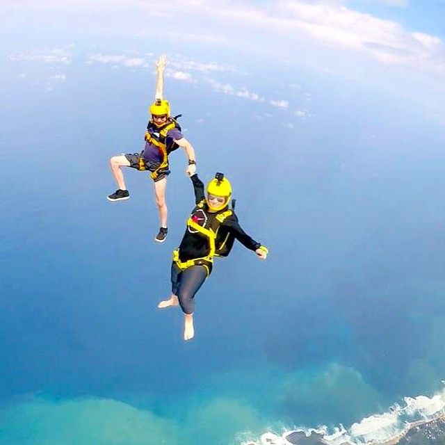 Cara Considine On Instagram This Is How We Get To The Beach Ridehome Puertorico Skydive Gopro Skydiving Paragliding Air Sport