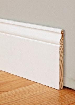 9 16 X 5 1 4 X 8 Pfj Primed Colonial Baseboard Baseboard Styles