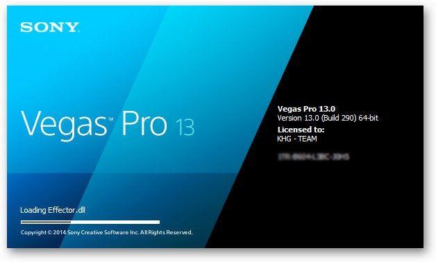 Free Download Sony Vegas Pro 13 0 Build 310 64 Bit Patch เทคโนโลย
