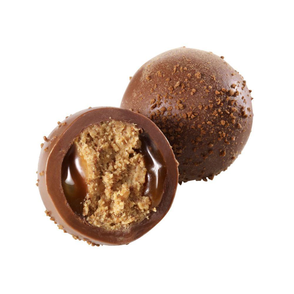 Butterscotch walnut brownie truffle gourmet chocolate