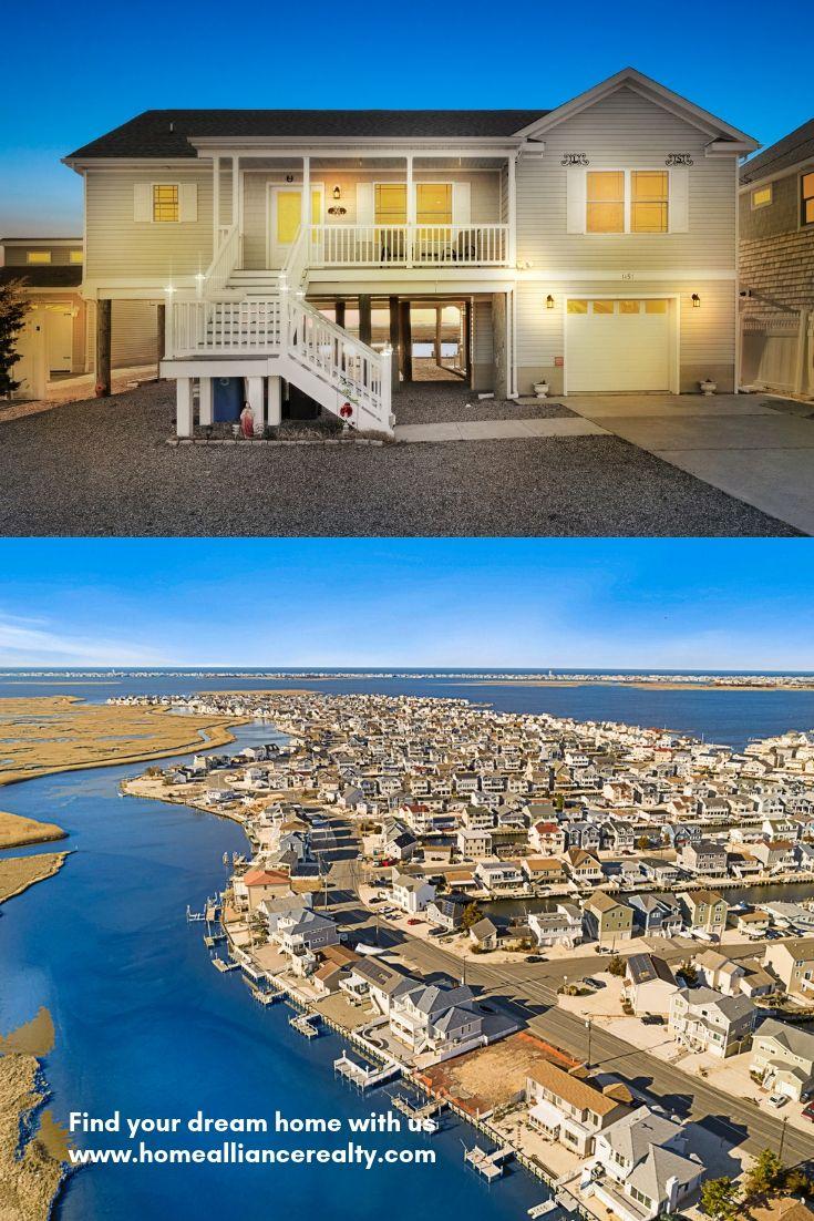 Coastal home for sale in ocean county lagoon access