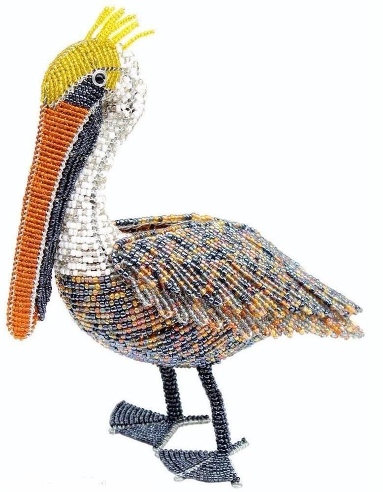 Beadworx glass beads nwt beaded wire natural pelican sea bird indoor beadworx glass beads nwt beaded wire natural pelican sea bird indoor outdoor publicscrutiny Gallery