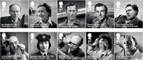 Creative Review - Abram Games features on new Royal Mail stamps