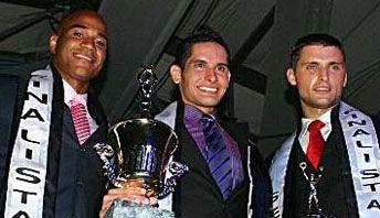 Mr. Tourism International 2010: Panama (1st RU), Bolivia (winner), Latvia (2nd RU)