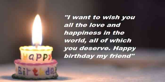 Best Birthday Wishes Quotes For Friend Birthday Wishes For Best