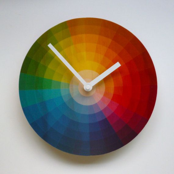 These Wall Clocks Are Made From Sustainably Produced Radiata Pine Plywood With The Design Digitally Printed To Polyester A Wheel Clock Unique Wall Clocks Clock