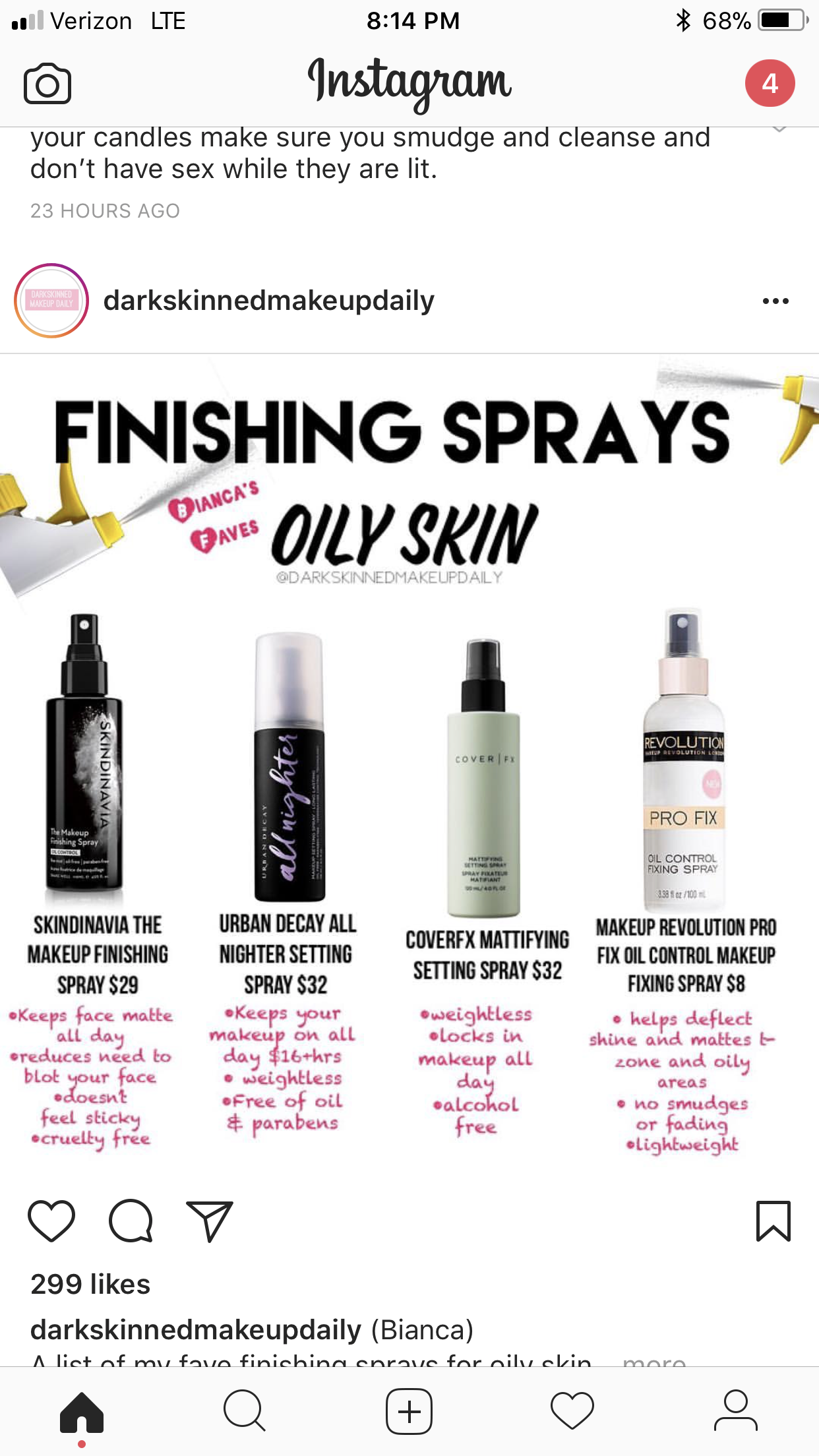Finishing sprays for oily skin Oily skin makeup, Oily