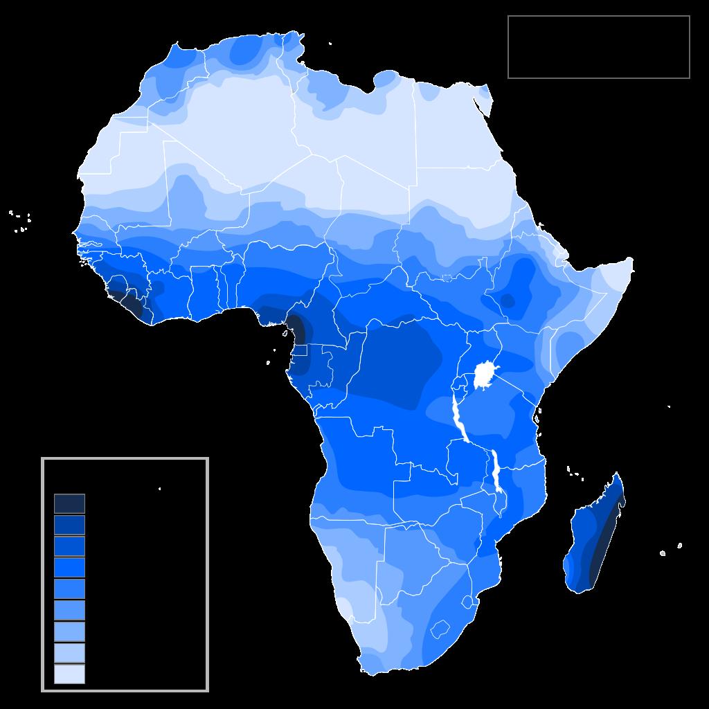 Africa Precipitation Map Precipitation Map of Africa   India world map, Africa map, Africa