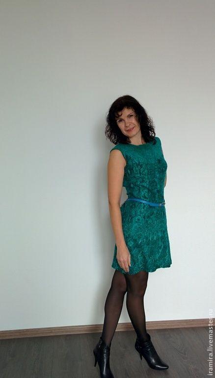 c5a49f723bb Купить Валяное платье