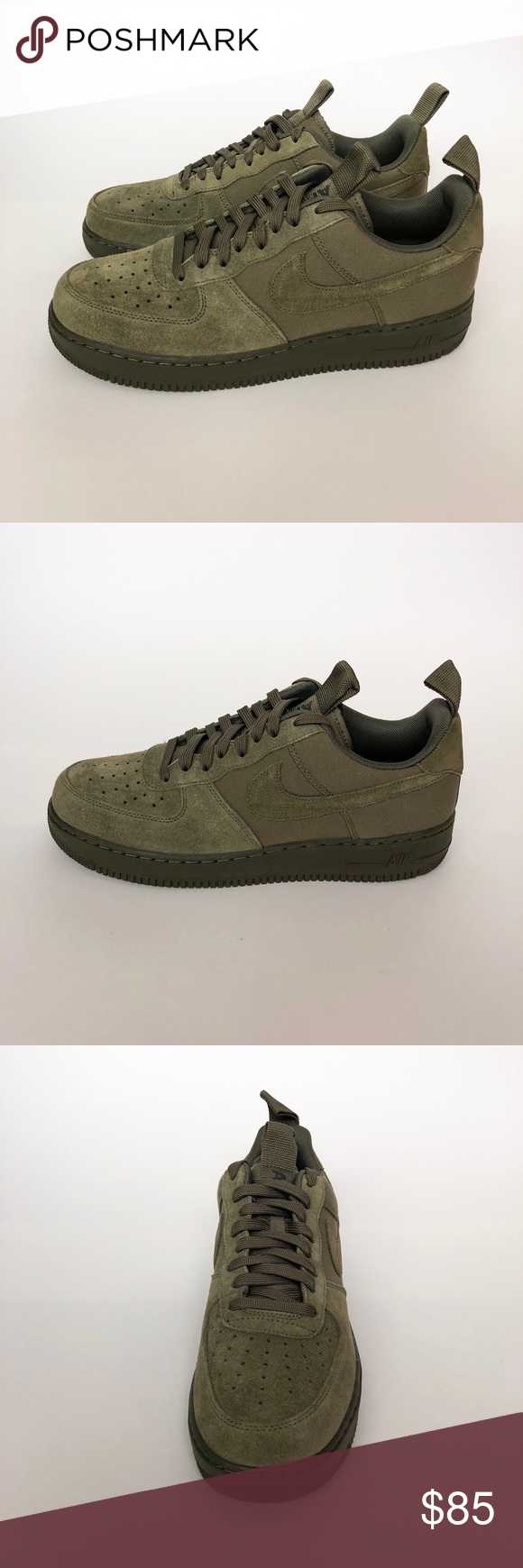 separation shoes 472f0 c28a9 Nike Air Force One Low Suede Canvas Brand New Nike Air Force 1 07  Excellent condition shoes are deadstock Perfect for the upcoming season  100% Authentic ...
