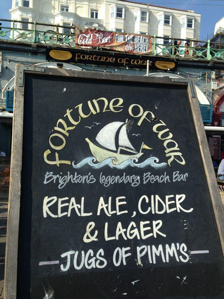 The Fortune Of War Brighton Hove War Beach Bars