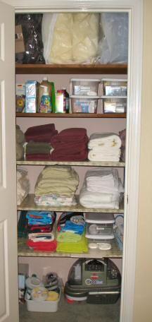 Genial Organized Linen Closet
