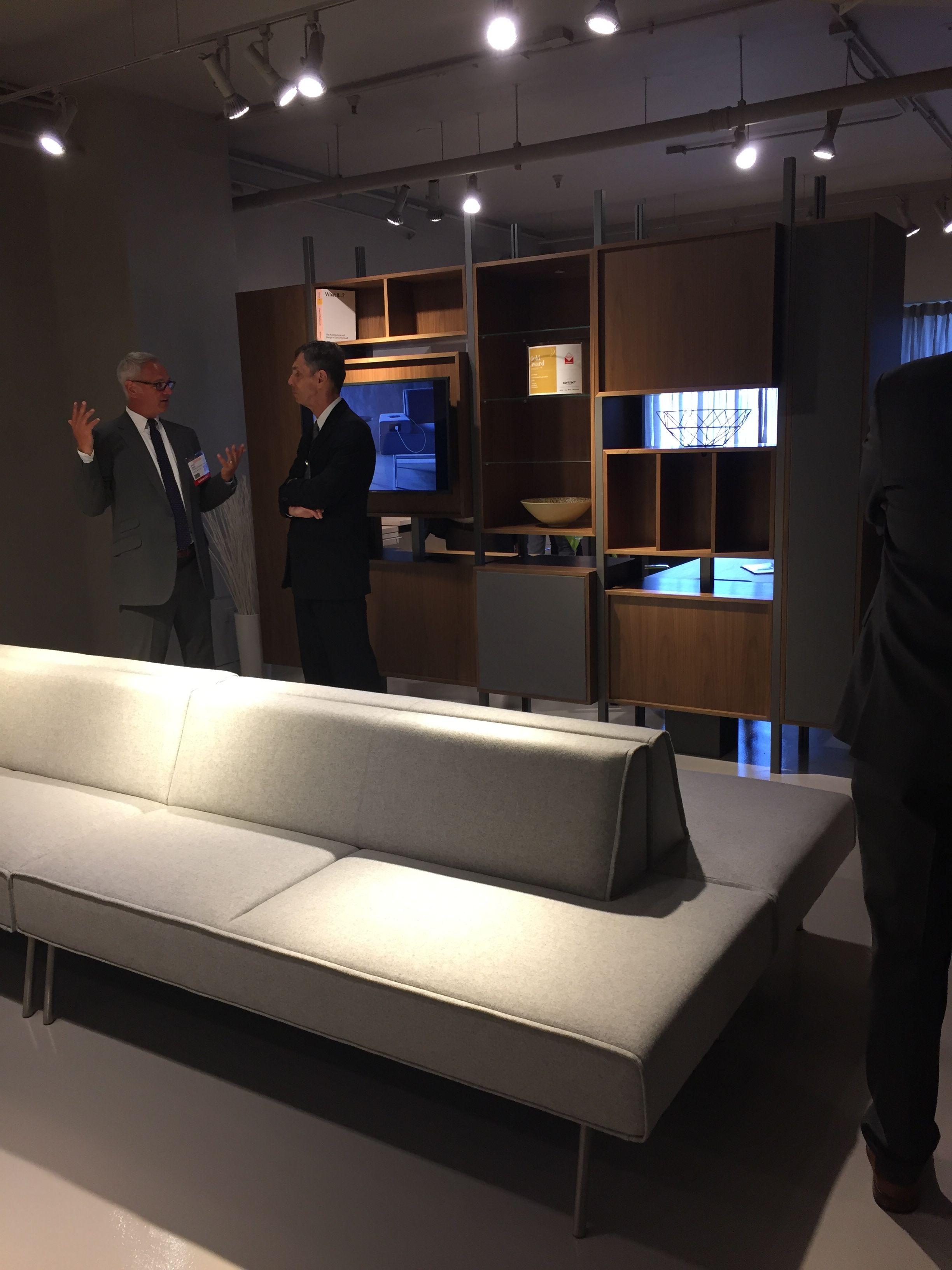 Tuohy NeoCon 2017 Executive Lounge And Storage Furniture