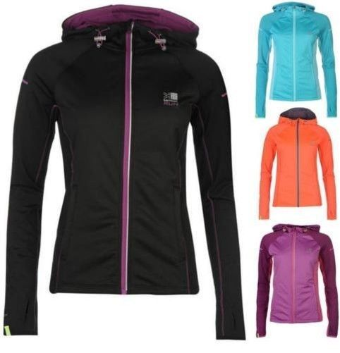 bcdaac4ae5e6fc Karrimor Xlite Zip Hoodie Ladies Warm Active Run Top ~All Sizes 6-16 Eu  Xxs-Xl