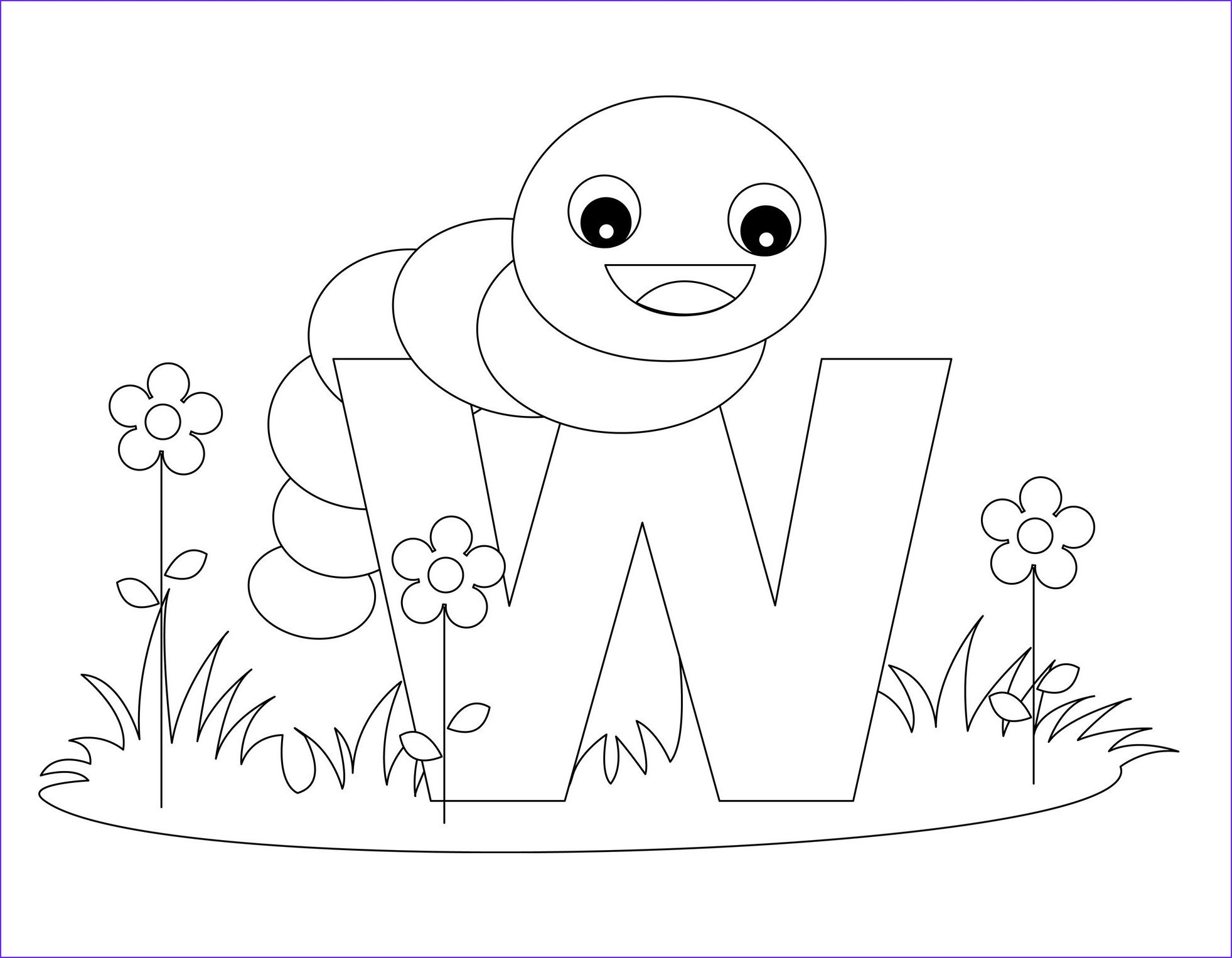Letter Coloring Books Animal Alphabet Z Coloring Page Royalty