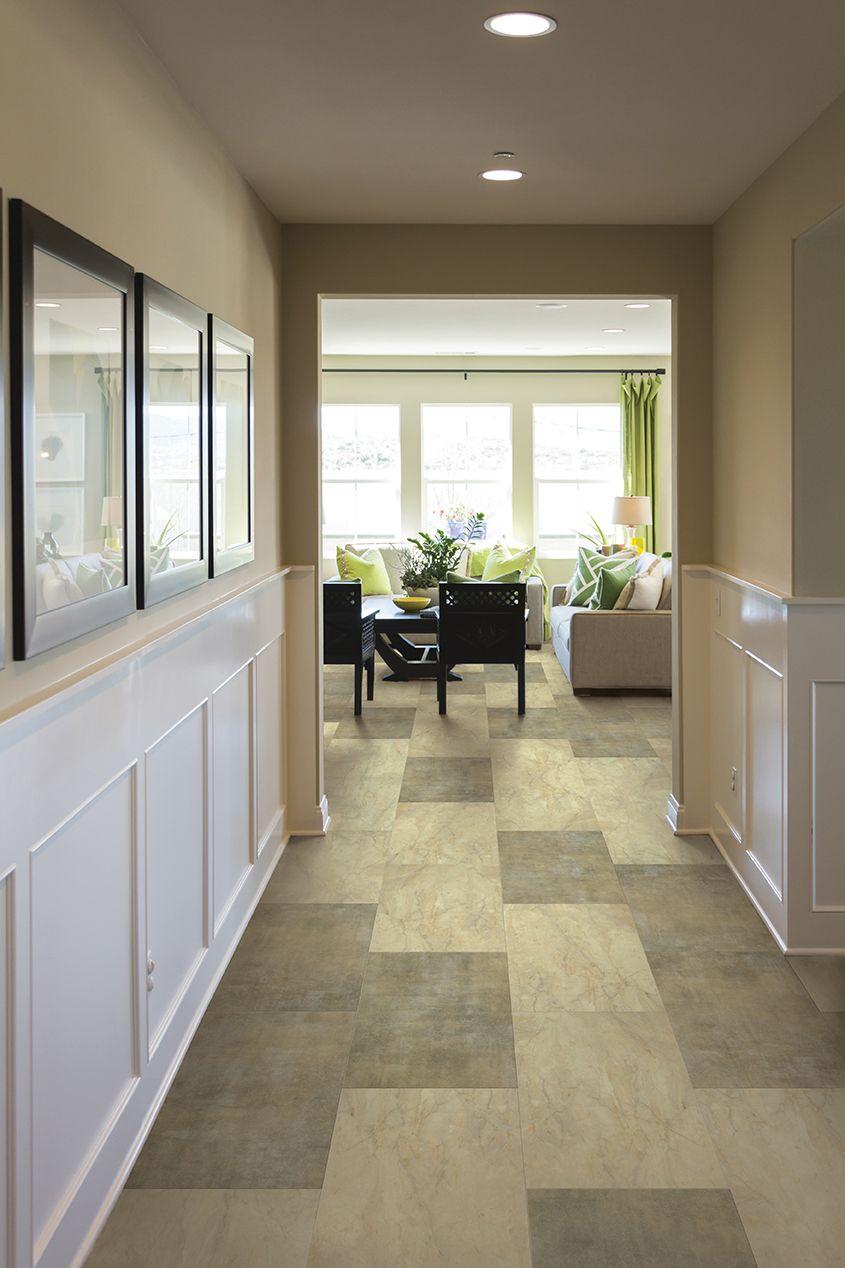 Marble Coretec, Installing wainscoting, Flooring