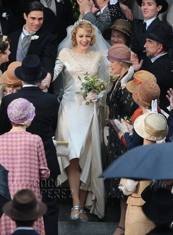 Blake Lively Stuns In A Vintage Wedding Dress For The Age Of Adaline