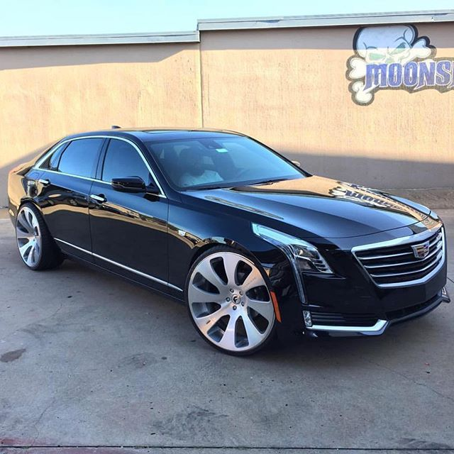"New 2016 Cadillac: These New CT6's Are Something Serious. 24"" @forgiato @wheels @ac_forgiato Done By"