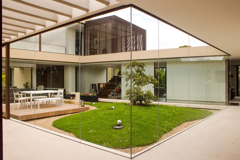 Galer a de casa 5 arquitectura en estudio 12 for Arquitectura de jardines