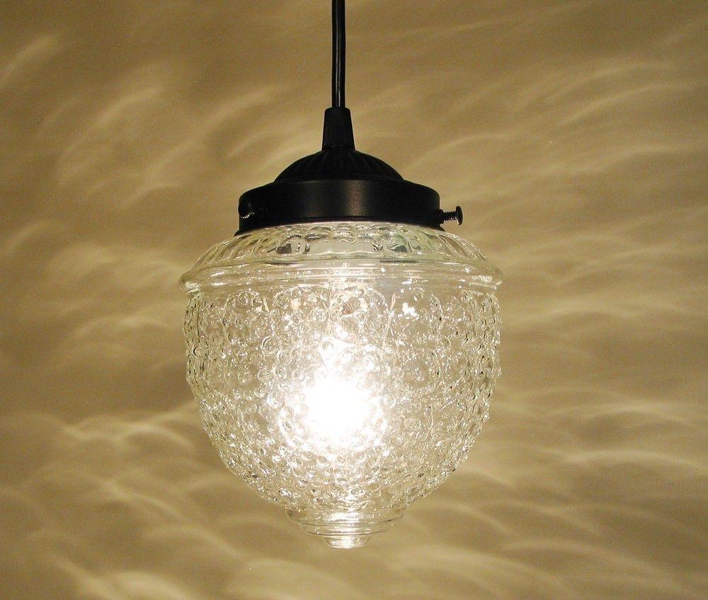 glass lighting pendants. Clear Glass PENDANT Light By LampGoods On Etsy Https:// Lighting Pendants E