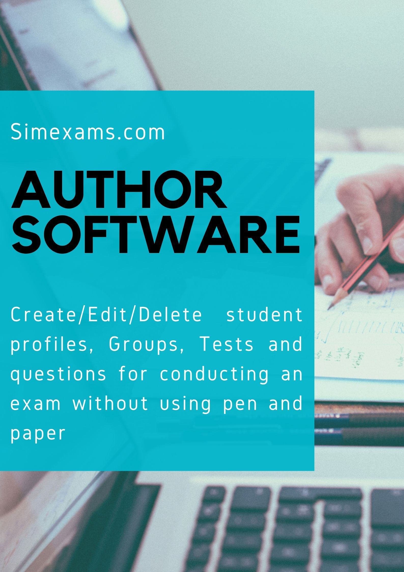 Author Software Examination system, Pen and paper, Author