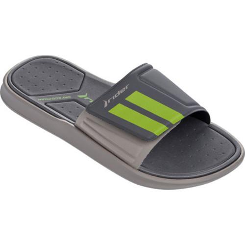 0689d610d9f18 Men s Rider Rail II Slide - Grey Dark Grey Green Sandals