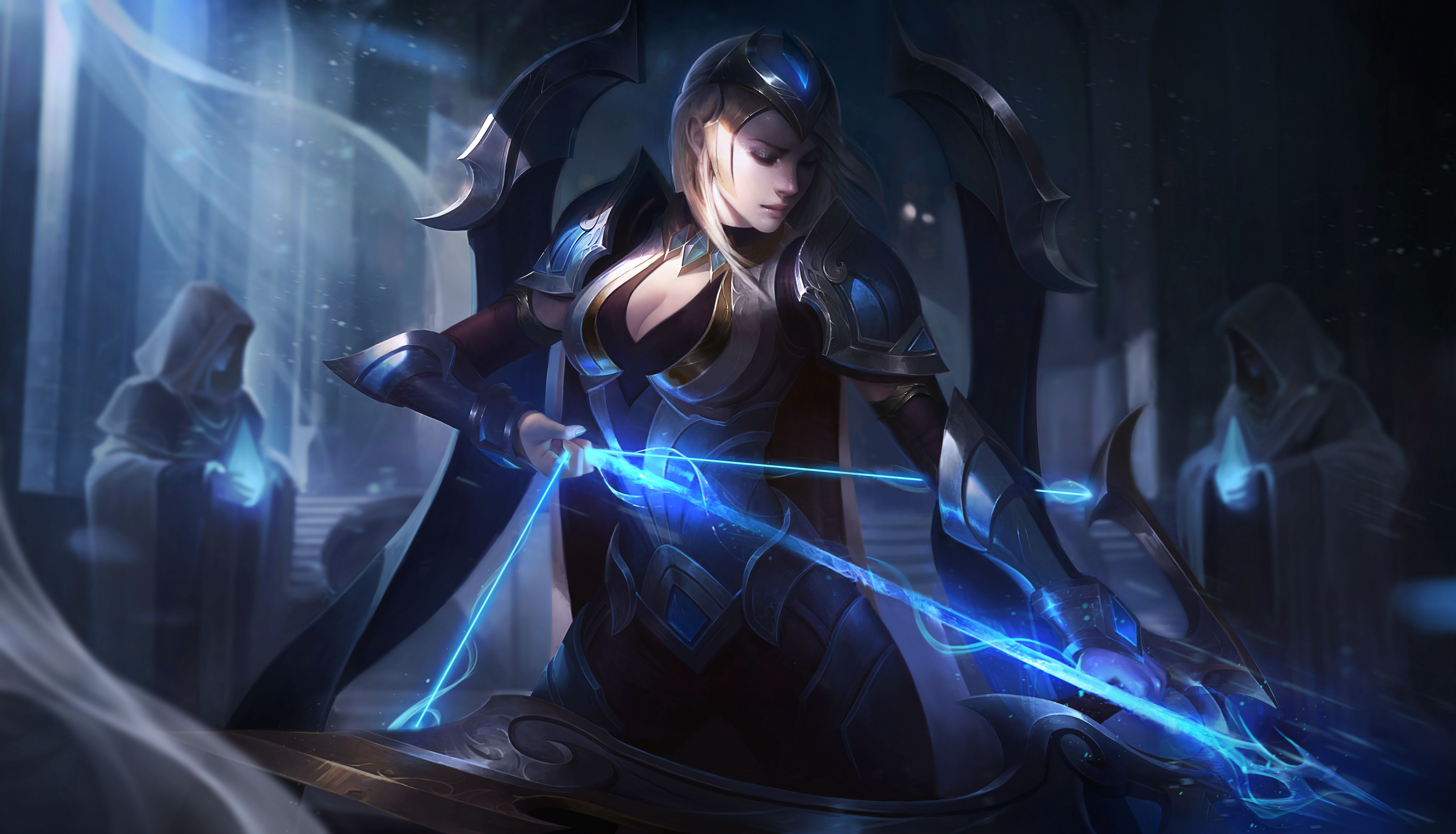 Championship Ashe Lol Wallpapers In 2019 League Of