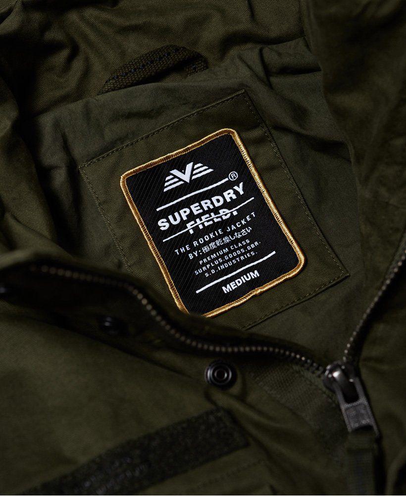 Mens Rookie Field Jacket in Ivy Green | Superdry | Men's