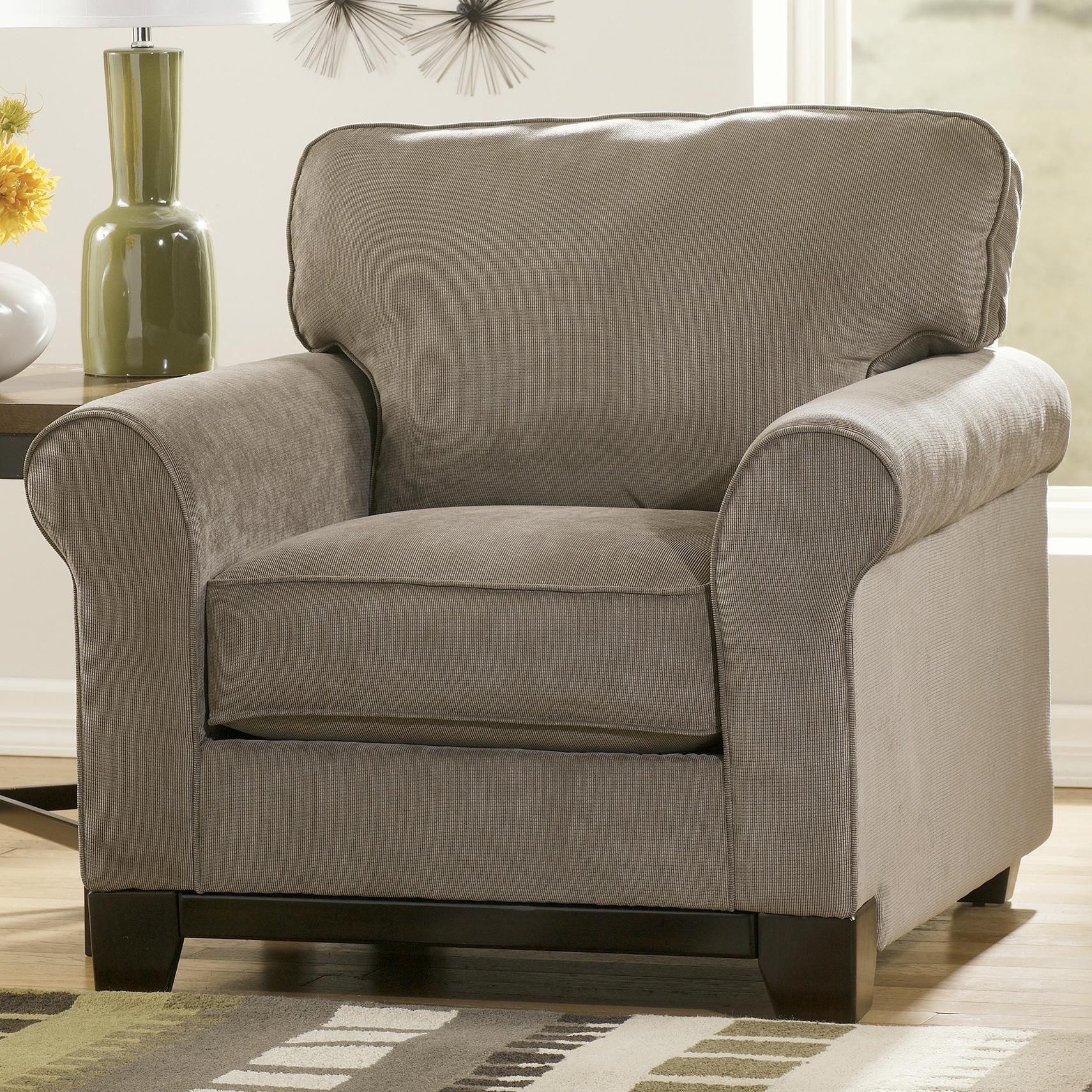 Signature Design By Ashley Riley   Slate Contemporary Upholstered Arm Chair    SuperStore   Upholstered Chair