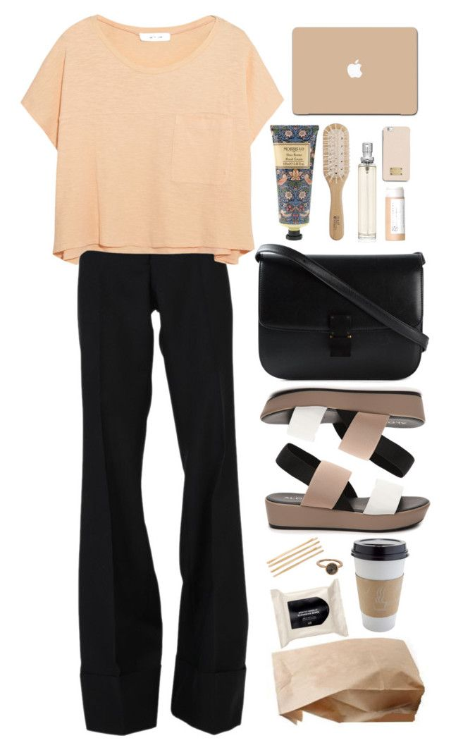 """feelin' calm"" by deandelaina on Polyvore featuring STELLA McCARTNEY, Elizabeth and James, ALDO, CÉLINE, Forever 21, William Morris, Philip Kingsley, H&M, Cara and MICHAEL Michael Kors"
