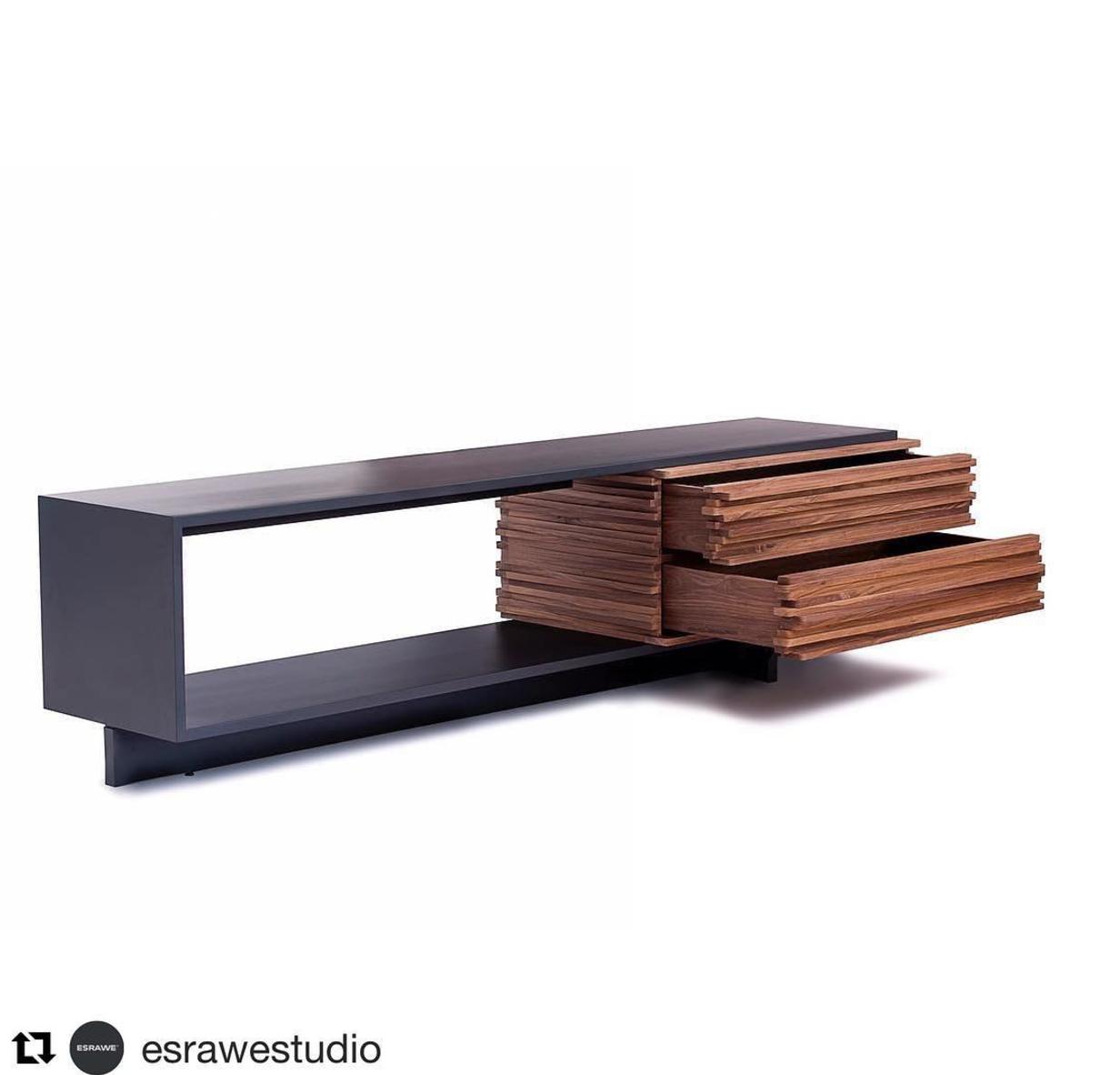Bon Minimalist Wooden Sideboard By Hector Esrawe