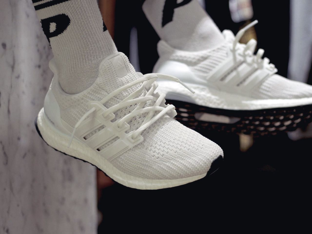 24b784d4e Adidas Ultra Boost 4.0 - Triple White - 2017 by Cerje Jack-l Buy  viaGlamour